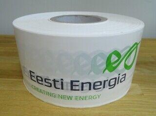 Piirdelint logoga - Eesti Energia