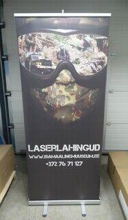 Roll up bänner - Laserlahingud