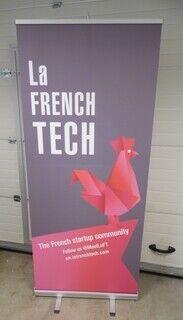 Roll up bänner - La French Tech