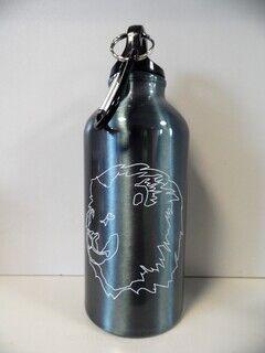 Trükiga joogipudel