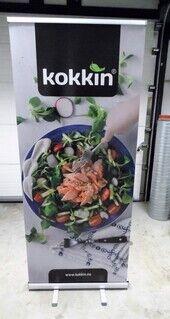 Roll up bänner - kokkin