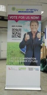 Roll up stend - Green Energy