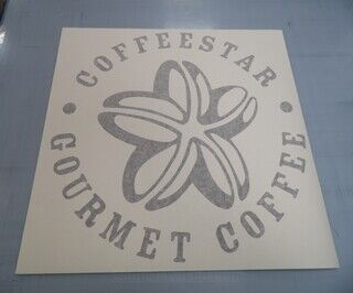Logokleebis - Coffeestar