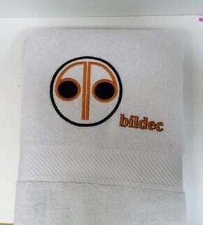 Logoga saunalina - bildec