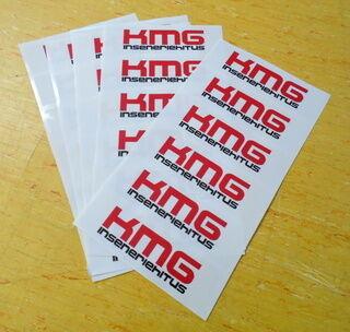 Logokleebised - KMG Inseneriehitus