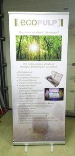 Roll up bänner - Ecopulp