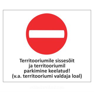 Sissesõidu keelusilt