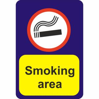 Suitsetamisala silt