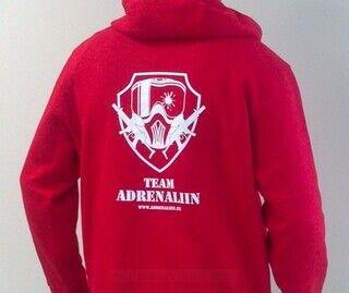 Team Adrenaliin pusa trükiga
