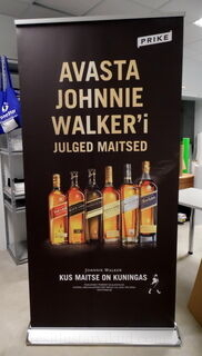 Johnnie Walker roll up