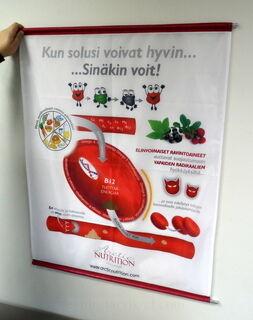 Arctic Nutrition lipukangast bänner