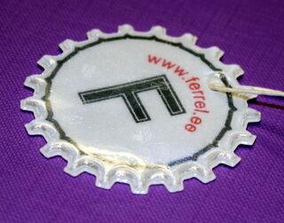 Helkur logo trükiga