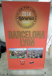 Barcelona Lyon x-bänner
