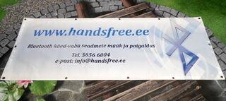 Handsfree pvc bänner