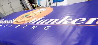 PVC bänner Runda Munken