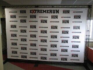 Truss reklaamsein Extreme Run