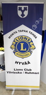 Roll-Up 850x2000 mm Lions Club Ylivieska Huhmari