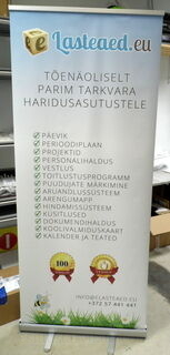 Roll-Up 850x2000 mm Lasteaed