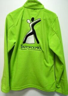 Fleece brodeerattu logolla Taitokolmio