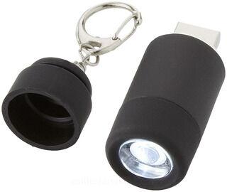 Avior laetav USB taskulamp võtmehoidja