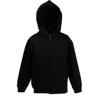 Kids Hooded Sweat Jacket