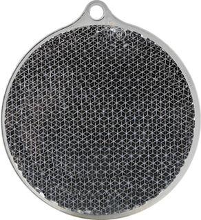 Heiastin pyöreä 55x61mm musta