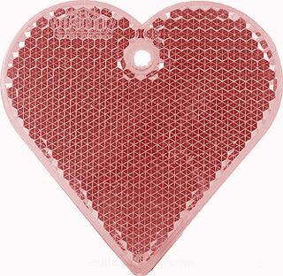 Helkur süda 57x57mm punane